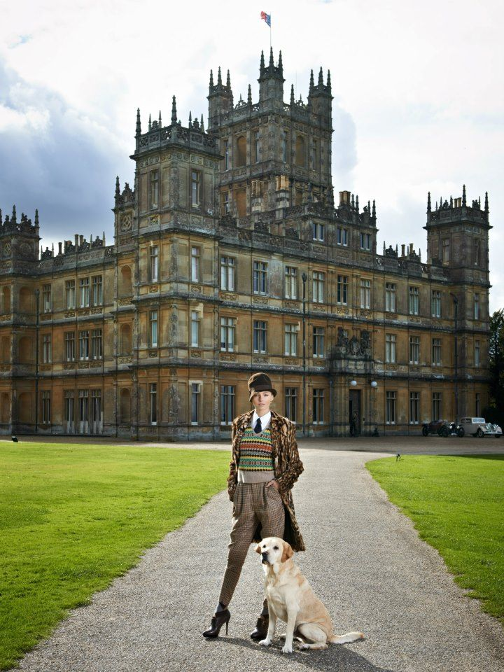 Ralph Lauren recently held a private fashion show the event at Highclere Castle where the TV series Downton Abbey was filmed. Photography by Chris Allerton courtesy of Ralph Lauren. Love! Love! Love!