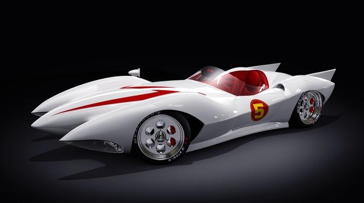Custom Classic Cars Wallpaper Original Mach 5 Speed Racer Car Speed Racer Celebrity Cars
