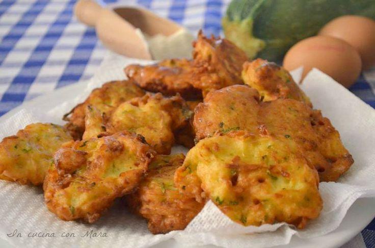 frittelle di zucchine e formaggio