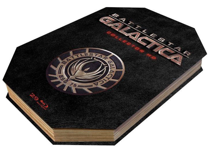 Battlestar galactica, l'intégrale totale en coffret blu-ray collector ultimate édition limitée : c'est sorti !