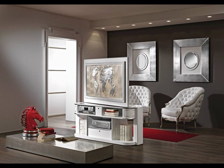 revolving tv stand vismara design for middle room tv turn around 360 degrees tv stand by