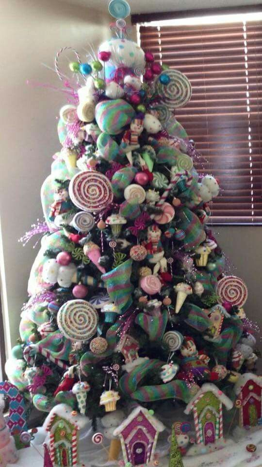 dulce arbol de navidad