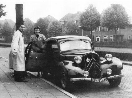 Citroën Traction Avant, c. 1950.