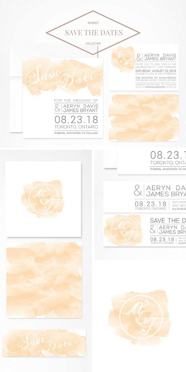 "Save the Date in style with these beautiful designed stationery pieces, part of the ""Whimsy"" Collection and available now. See more of the ""Whimsy"" Collection at http://whiteenvelopedesign.trinaelisedesigns.com/product-category/whimsy/  #savethedate #celebrationsdesigned"