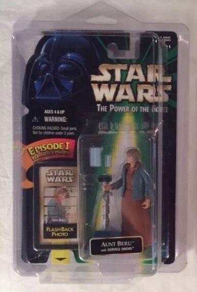 Star Wars The Power of The Force Flashback Photo Aunt Beru | eBay