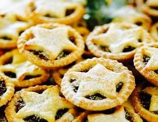 Sweet, crumbly, mince pies.