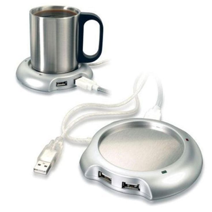 USB Splitter Tea Coffee Warmer with On / Off Switch | Teme Store   – Gadgets