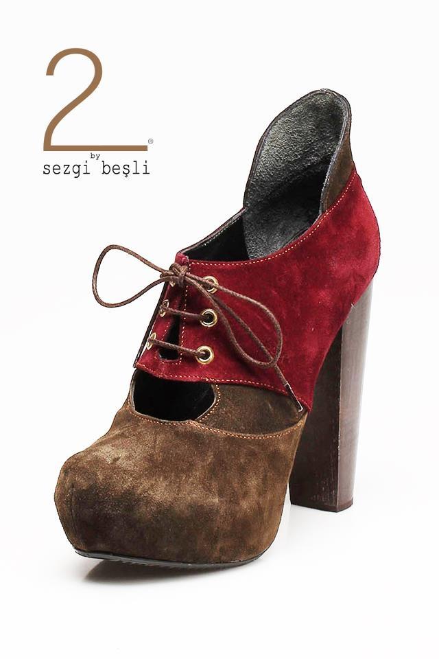 Designed by Sezgi Besli/2012-13 autumn winter /%100 leather handmade shoes.