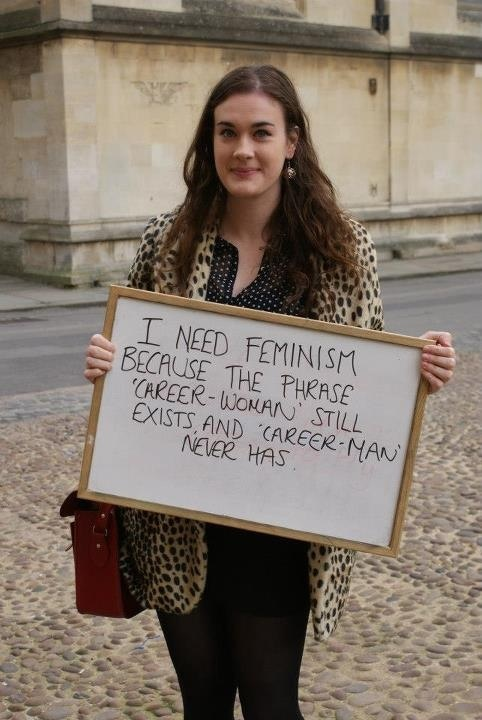 I need feminism.....