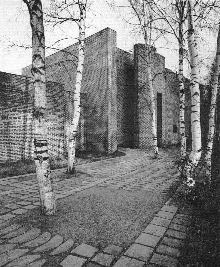 fuckyeahbrutalism:  St. Mark's Church, Björkhagen, Sweden, 1961 (Sigurd Lewerentz)