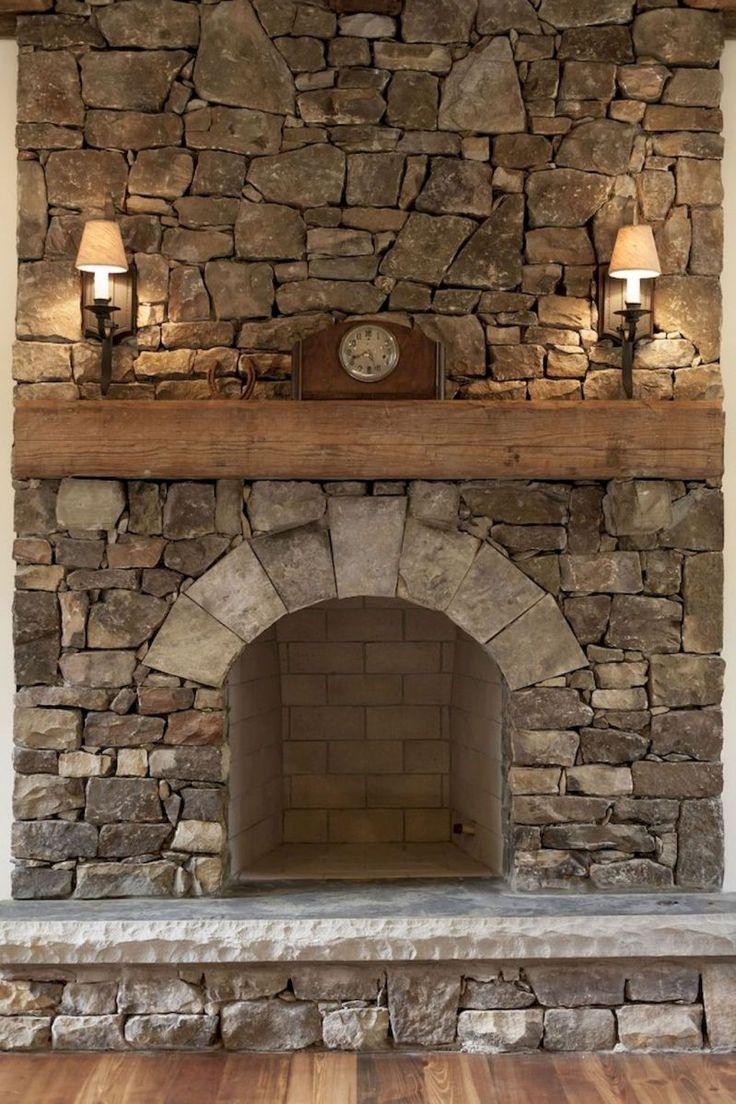 Best 25 Stone Fireplace Makeover Ideas On Pinterest