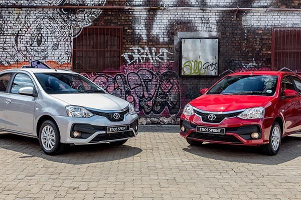 India-made #Toyota #Etios Sprint launched in #SouthAfrica