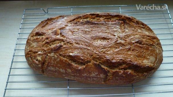 Špaldovo-ražný zemiakový kváskový chlieb (fotorecept) - Recept