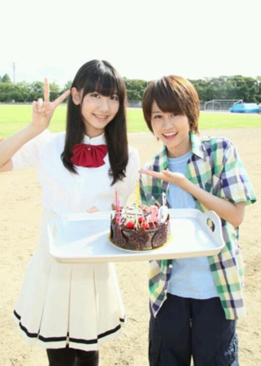 Kashiwagi Yuki and Maeda Atsuko in Hana Kimi remake