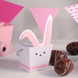 Conejo de Pascua de cartón: Passover, To Decorate, Box Of, Easter, Print For, Decorar Cajita, Easter Eggs, Easter Baskets, Rabbit