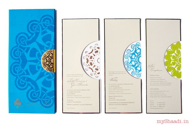 Indian Wedding Cards & Samples| Myshaadi.in#India#Wedding Card#Marriage Invitation