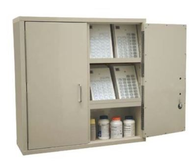 Beautiful Extra Large Narcotic Cabinets