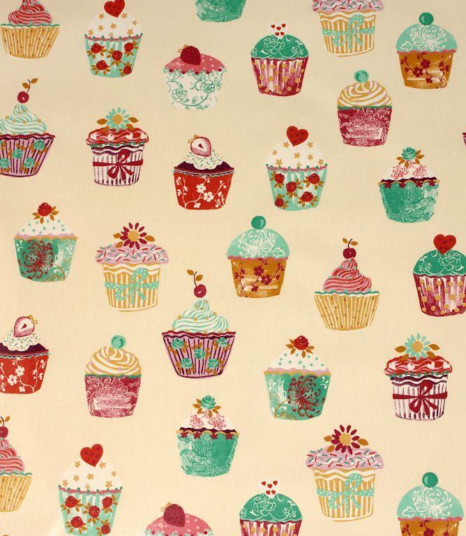 Cupcakes PVC <3  http://www.justfabrics.co.uk/curtain-fabric-upholstery/vanilla-pvc-cupcakes-fabric/