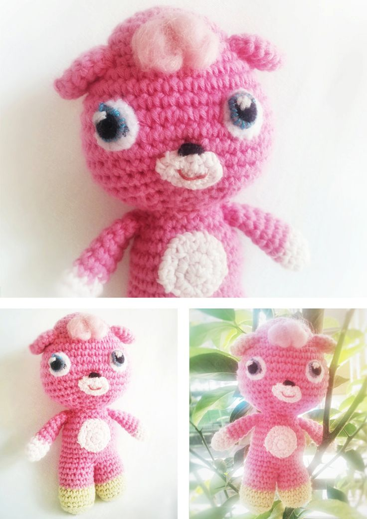 Amigurumi Moshi Monsters : 17 Best images about Amigurumi on Pinterest Free pattern ...