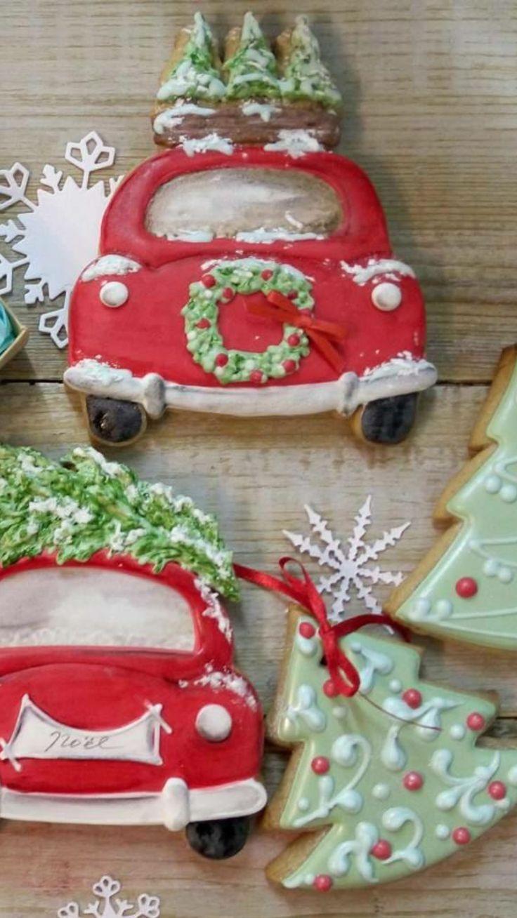 #christmas #tree #car