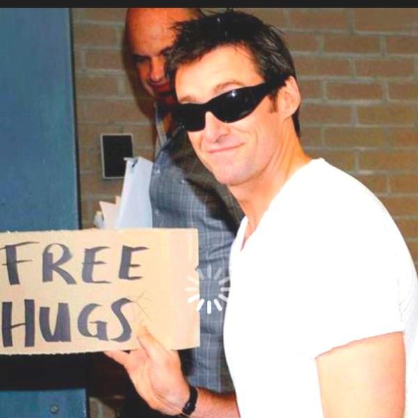 Hugh Jackman: Free Hugs, Hugh Baby, Huge Jackman, Hughjackman, Hugs Jackman, Healthy Weights, Hugh Jackman, Weights Loss, Rapid Weights
