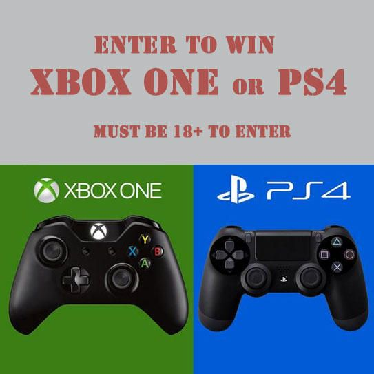 Must be 18+ to enter. Extremely-sharp.com Swords & Knives is giving away a PS4 or Xbox One to one lucky winner.