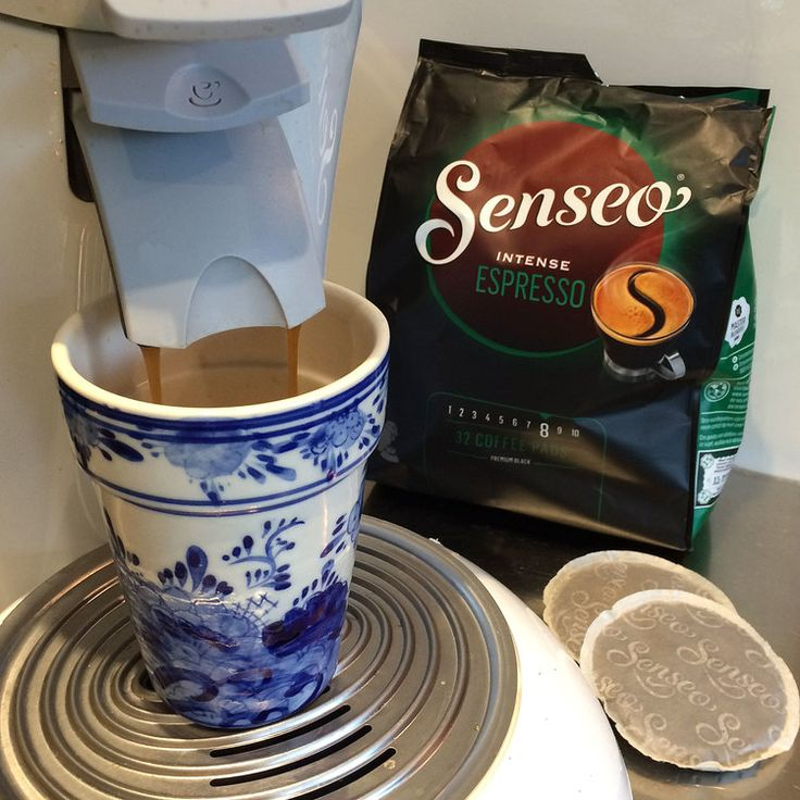 In addition to our espresso machine, we also have a Senseo coffee machine. I use the Senseo machine if I want to make myself a quick cup of coffee which is not too strong in comparison to espresso. You just pop a pad into the device, press the button and a wonderful aromatic brew of coffee pours into your cup.    The Senseo pads come in a large variety of flavors. I like a strong and powerful cup of coffee. This  Senseo Intense Espresso No 8 is slightly stronger in taste than the…