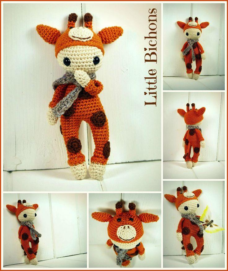 Patron au crochet - Josephine la girafe : Autres pièces pour créations par little-bichons