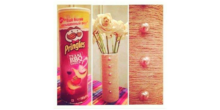 15 Cosas en las que un bote de Pringles se puede transformar