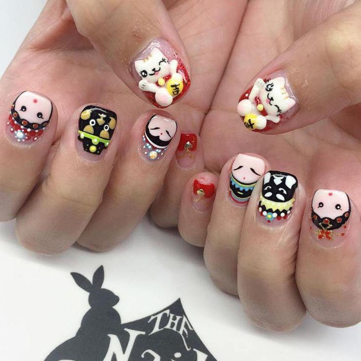 +30 Top Cartoon Nail Art Designs 2018 - The 25+ Best Cartoon Nail Designs Ideas On Pinterest Nail Art