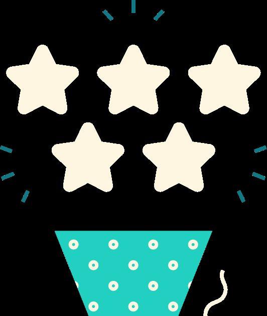 5 consecutive 5 stars