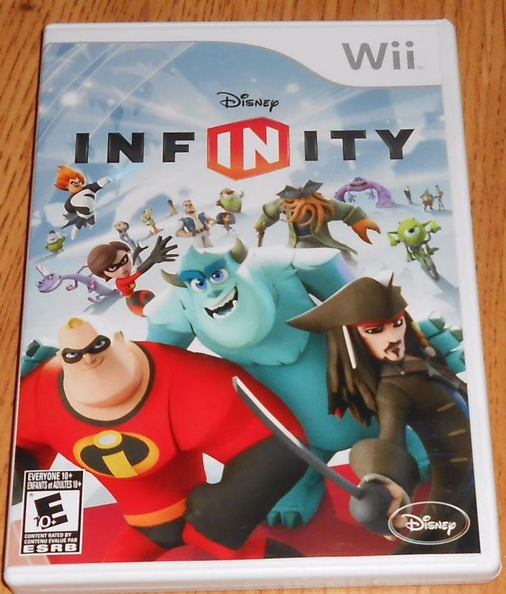 Disney Infinity 1.0 Game Only Nintendo Wii