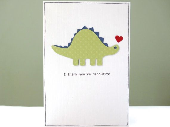 Romantic Anniversary Card - dinosaur wedding anniversary ...