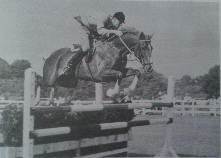 Big Line & George H. Morris at Ox Ridge in 1965.