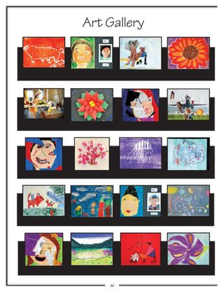 Art Department-Elementary Yearbook