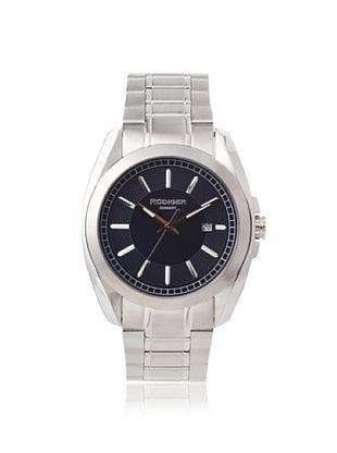 77% OFF Rudiger Men's R1001-04-003 Dresden Stainless Steel Blue Dial Watch