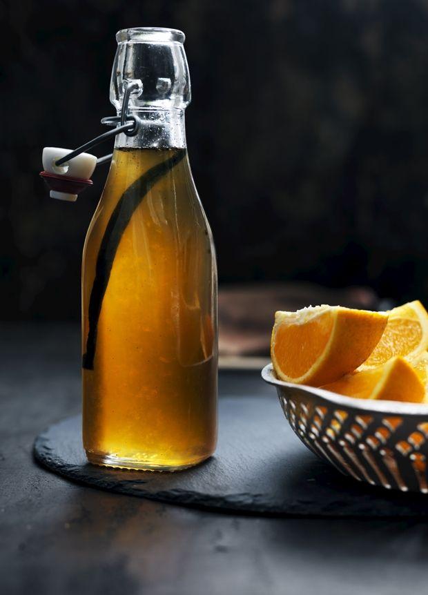 Hjemmelavet appelsinsirup