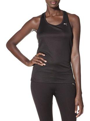 8% OFF PUMA Women's Running Tank (Black)