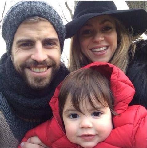 Shakira, Pique N Milan ... #Family