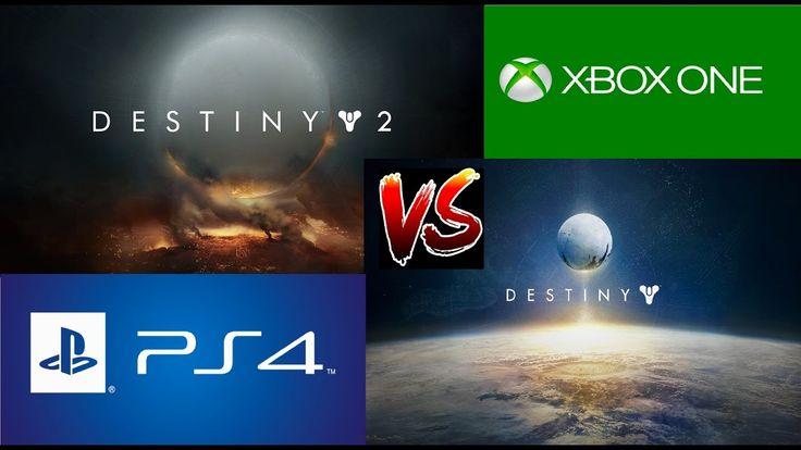 Destiny 2 vs Destiny Gameplay Graphics Comparison