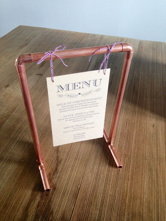 The 25+ best Menu holders ideas on Pinterest | Restaurant ...