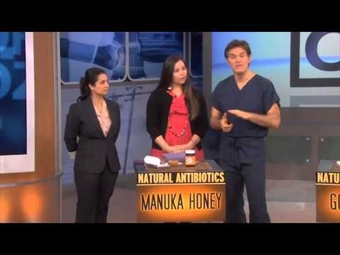 Dr Oz Explains The Benefits Of Manuka Honey Youtube Droz Manuka Honey Mgo Manuka Honey