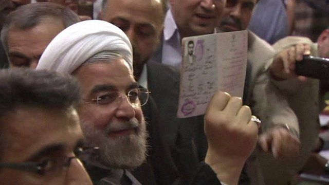 Iran elections 2013: Hassan Rouhani leads in initial vote count