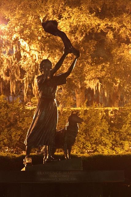 Waving Girl...Savannah, GA