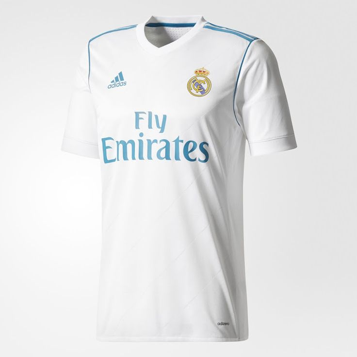 Real Madrid 17-18 Home Kits Revealed - Footy Headlines