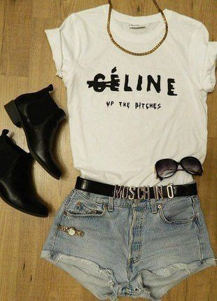 T-SHIRT: http://www.glamzelle.com/products/celine-up-the-bitches-print-shirt-2-colors-available-1