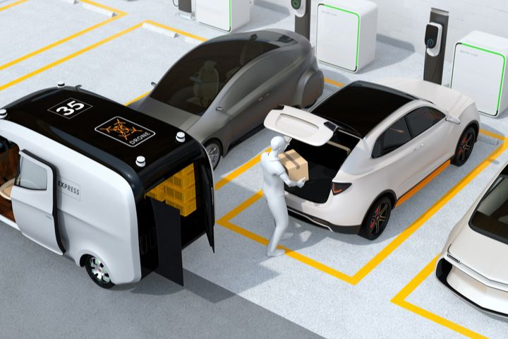 Last Mile Delivery Market Is Thriving Including Key Players United Parcel Service Of America Inc Commercial Vehicle Automobile Industry Automobile Companies