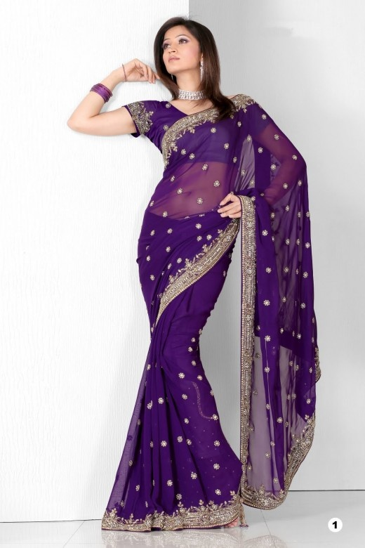 Indian Sari - gorgeous!