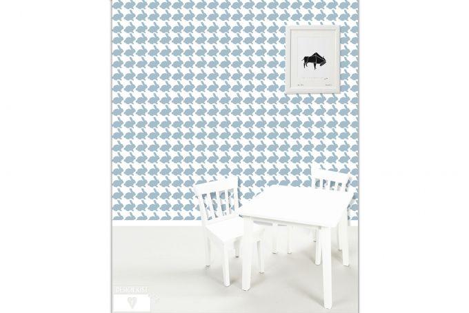 Bunnies Wallpaper by Design Kist