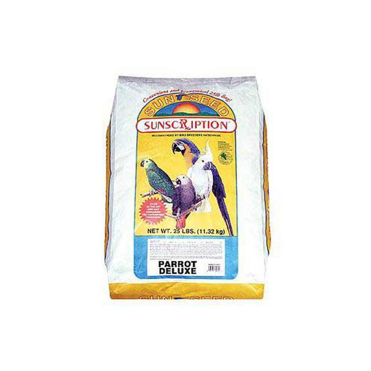 Sun Seed Company Parrot Deluxe 25Lb - Overstock Shopping - The Best Prices on Sun Seed Company Bird Food & Treats